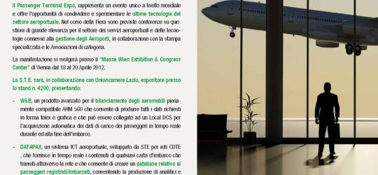 S.T.E. vi invita alla 18esima edizione del Passenger Terminal Expo