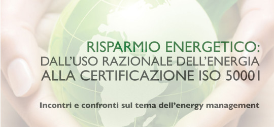 Risparmio Energetico: dall'uso razionale dell'energia alla certificazione ISO 50001