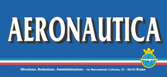 """Articolo pubblicato sulla rivista """"AERONAUTICA"""" edito dal Ministero della Difesa"""